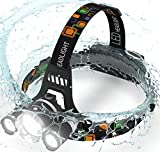 Brightest LED Headlamp - 5000 Lumen, 18650 Rechargeable - Best Reviews Guide