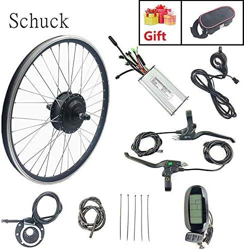 Schuck Kit de conversión de Bicicleta eléctrica,36V 500W Motor ...