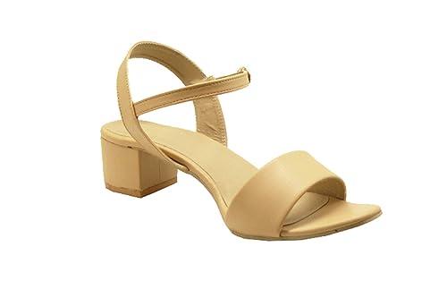 45ff0a3ab00 LoferKama Box Heel Sandals for Women   Girls  Buy Online at Low ...