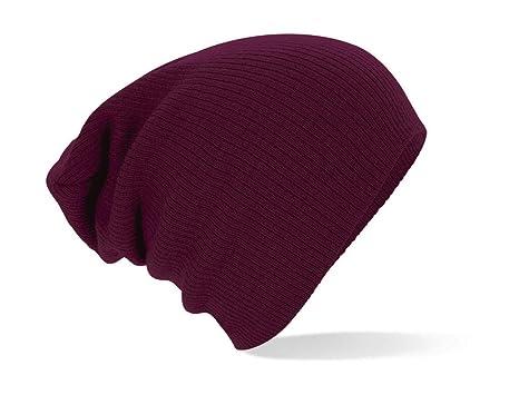 068dab6a658 Amazon.com  Beechfield Men s Slouch Beanie  Clothing