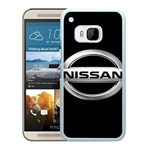 Nissan Logo White New Recommended Design HTC ONE M9 Phone Case