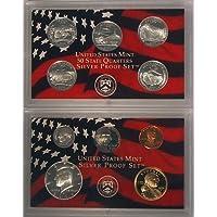 Juego de prueba de plata S 2006 en embalaje original del gobierno de EE. UU.
