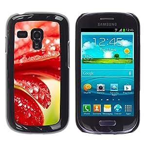 Be Good Phone Accessory // Dura Cáscara cubierta Protectora Caso Carcasa Funda de Protección para Samsung Galaxy S3 MINI NOT REGULAR! I8190 I8190N // Plant Nature Forrest Flower 98