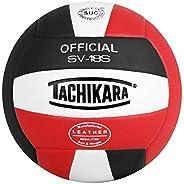 Tachikara Bola de vôlei de couro composto de qualidade institucional, branco real