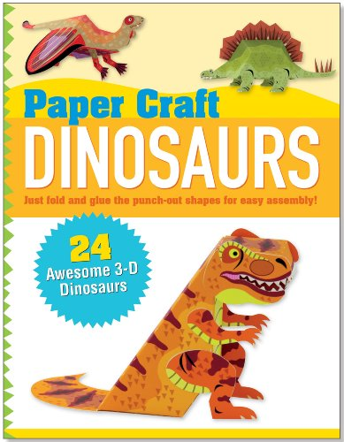Paper Craft Dinosaurs Papertoy Models Origami
