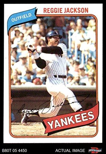 - 1980 Topps # 600 Reggie Jackson New York Yankees (Baseball Card) Dean's Cards 8 - NM/MT Yankees