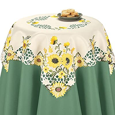 Decorative Sunflower Table Linens