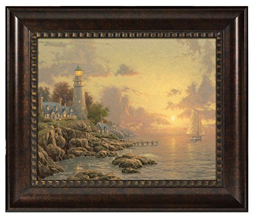 Thomas Kinkade The Sea of Tranquility Brushstroke