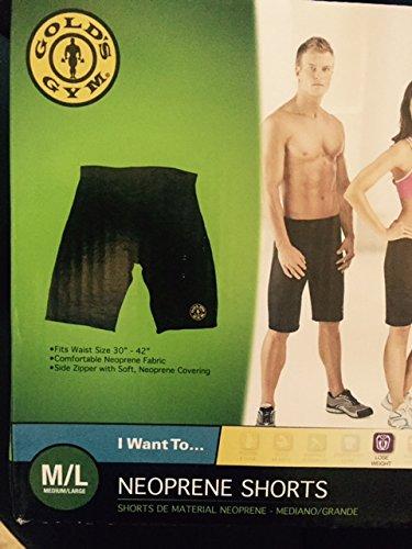 golds gym slimming shorts m/l (Golds Gym Mens Shorts)