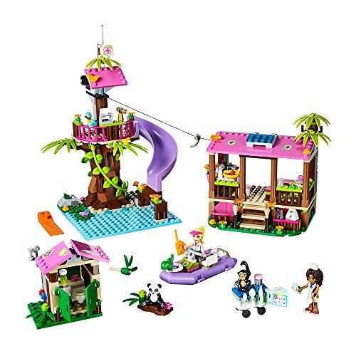 LEGO Friends- Selva, la base de rescate de la jungla (41038): Amazon ...