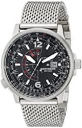 Citizen Eco-Drive Men's BJ7008-51E Silver Mesh Watch