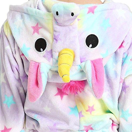 Kenmont Unicornio Pijamas Unisexo Adulto Traje Disfraz Animal Pyjamas Cosplay Carnaval Ropa de dormir deportiva (S, Estrella): Amazon.es: Juguetes y juegos