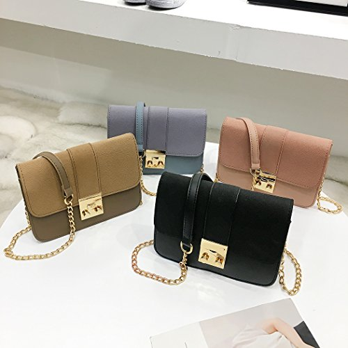 Envelope Crossbody Small Bag for Ladies Women Handbag Leather MIOIM PU Satchel Black 6gqxYW