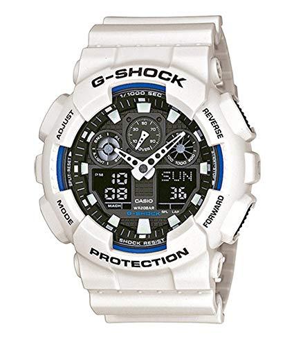 Casio - Men's Watches - Casio G-Shock - Ref. Ga-100B-7Aer (Casio Efa 119bk 1avdr Erkek Kol Saati)
