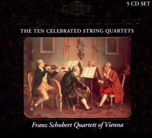 Mozart: quatuors à cordes dédiés à Haydn 514Yw5rf6FL