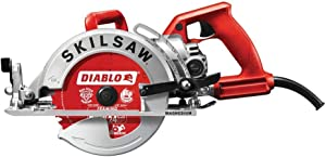 Skil SPT77WML-22 7-1/4 in. Lightweight Magnesium Worm Drive Circular Saw with Diablo Carbide Blade
