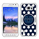 img - for NCAA Pacific 12 Conference Pac 12 Football NCAA Mountain West Conference MWC Utah State Aggies 11 White Samsung Galaxy S6 Active Shell Case,Fashion Cover book / textbook / text book