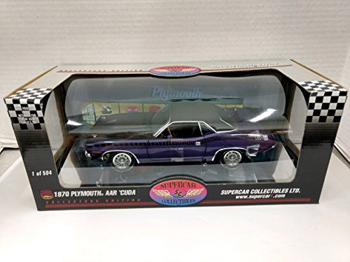 Highway 61 50237C 1970 Plymouth AAR 'Cuda 1:18 Scale Die Cast Replica