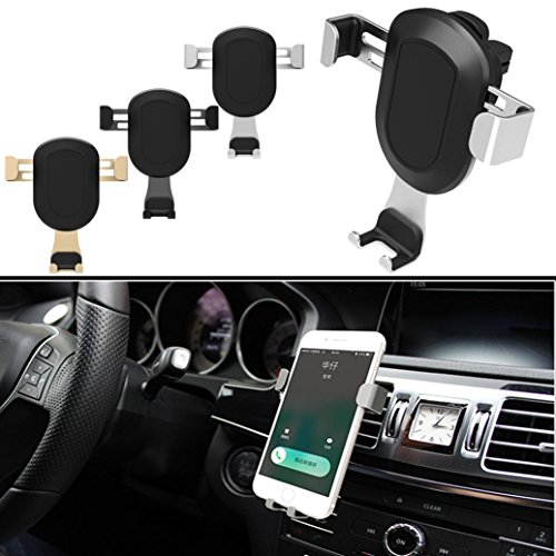 Air Vent Holder Stand, Gotd New Universal Car Air Vent Mount Cradle Stand Holder For Samsung For iPhone (3.5-6.0inch) (Best Goodtrade8 Iphone 6 Cases)