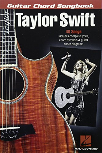 - Taylor Swift - Guitar Chord Songbook (Guitar Chord Songbooks)