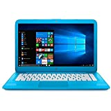 "Notebook HP Stream Intel Celeron 1.6GHz 4GB RAM 32GB SSD eMMC Windows 10 Tela 14"" - Azul"