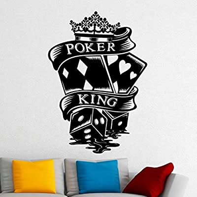 Casino Sticker Gambling Decal Gamble Posters Vinyl Wall Decals ...