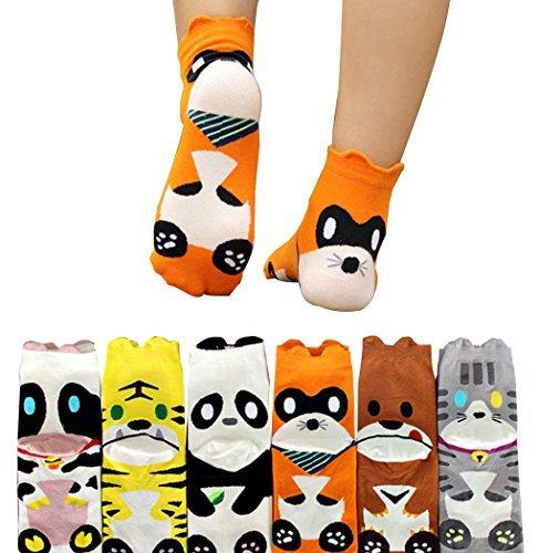 Cartoon Animal Socks