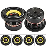 American Bass 8' Competition Subwoofers 4 Ohm 800W Max Sub Bass VFL-8D4 4 Pack