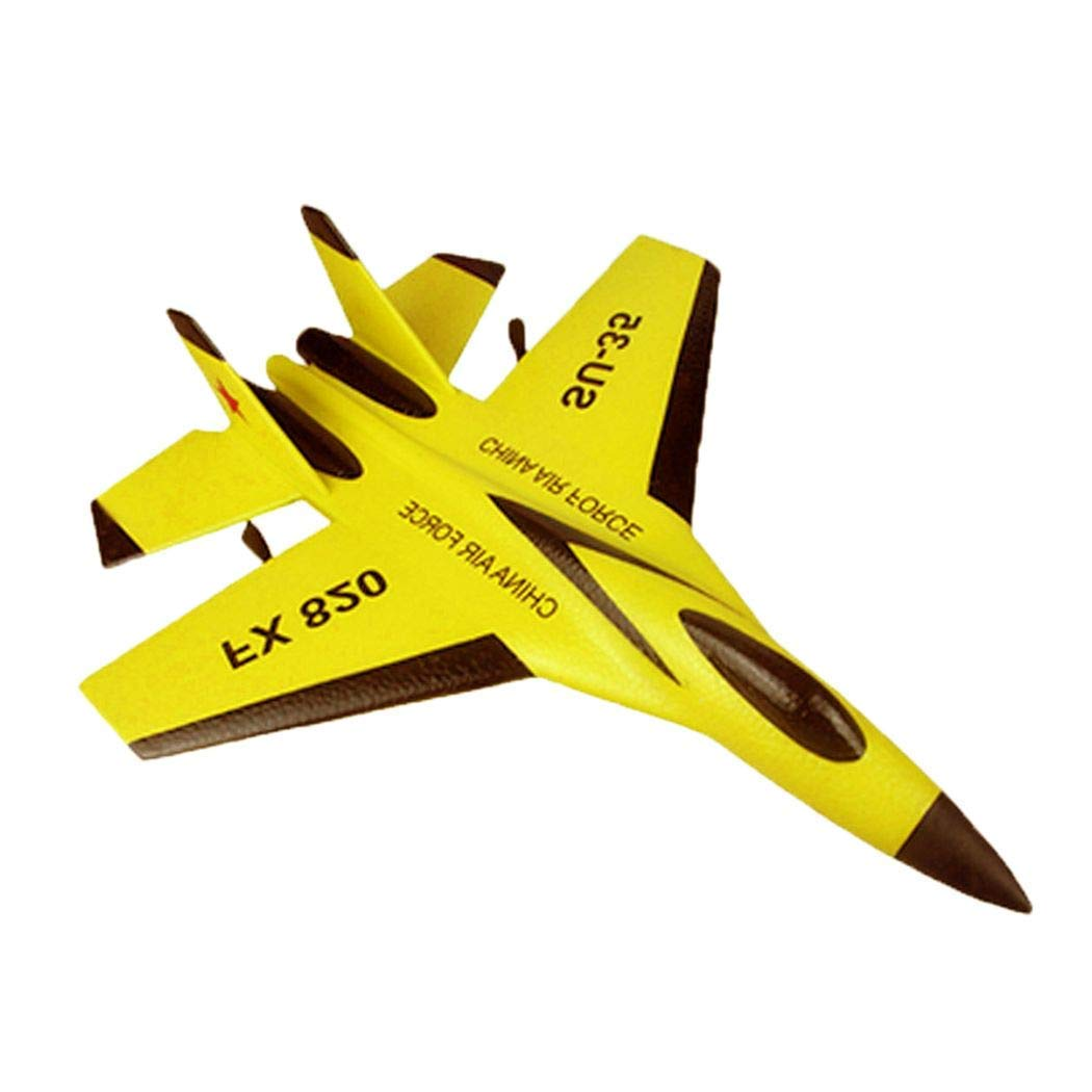 Remote Control RC Helicopter Plane Glider Airplane Toys 2CH 2.4G