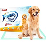"""Thxpet Pet Puppy Training Pads 40 Count 28""""x34"""" Dog Pee Potty Pad Wee Wee Pad Super Absorbent Leak Proof"""