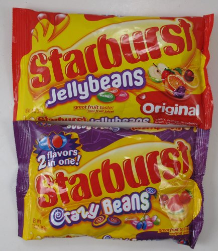 Starburst Jelly Beans 2 Pack Crazy Beans and Original