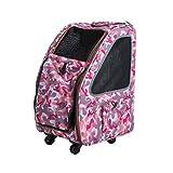 PETIQUE PC01010103 Pet Stroller, Pink Camo, One Size