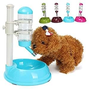 Paleo Automatic Pet Water Feeder Bowl Cat Dog Food Water Bottle Feeder Dispenser Drink Dish Travel