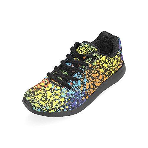 Zapatillas Mujer Zenzzle Para de de Running Negro Lona Negro 7xpgAq