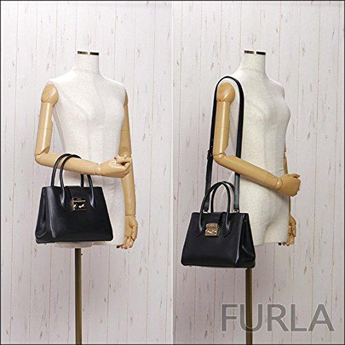フルラ メトロポリスシリーズの小さめ2wayトートバッグ、人気のミニバッグとは違った可愛さ♪FURLA BMN3 ARE METROPOLIS Sサイズ