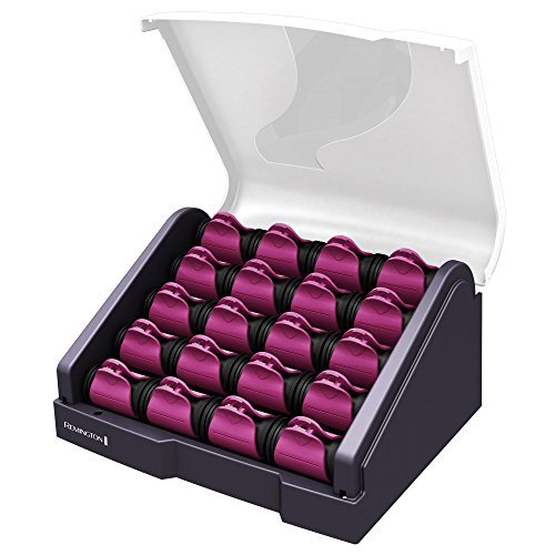 Remington H9096B T|Studio Silk Ceramic Heated Clip Setter 20-Count , Hair Roller, 1-1 1/4 Inch