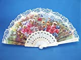 Best Feng Shui Import Fans - 1 X White Lace Spanish Hand Fans Review
