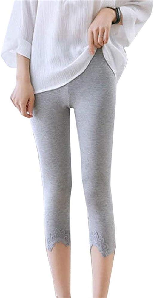 HaiDean Pantalones De Mujer Capri Pantalones Deportivos Medias De ...