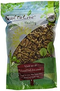 Food To Live Walnuts (Raw, No Shell) (2.5 Pounds)