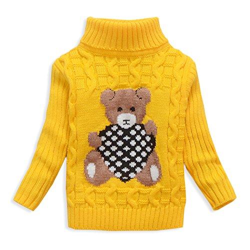 Yellow Kids Sweater - 8