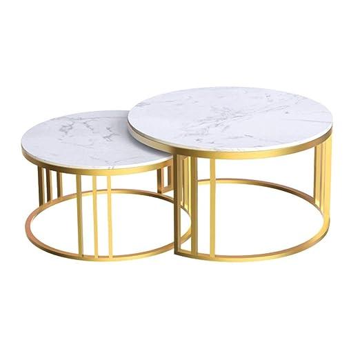Mesa de Centro Redonda Elegante de Mediados de Siglo ...