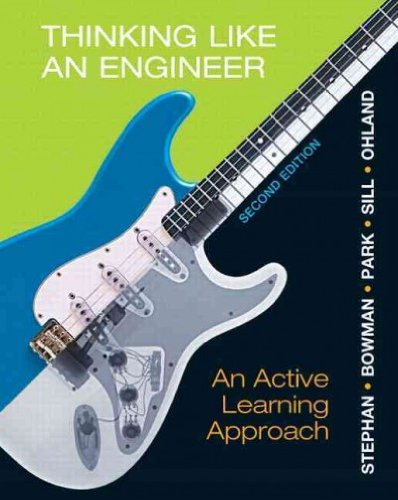 Thinking Like an Engineer: An Active Learning Approach pdf epub
