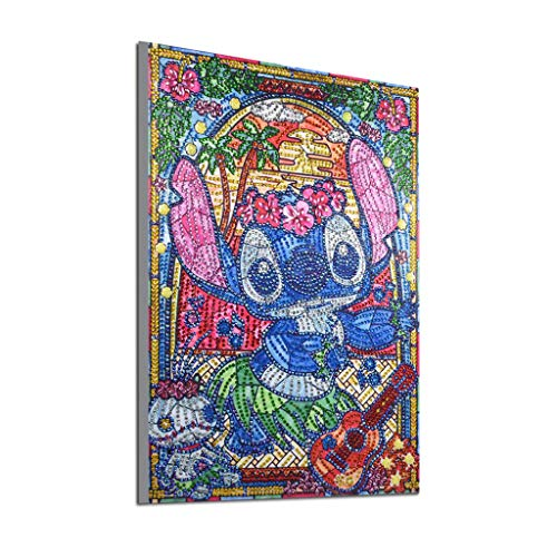 Alimao Special Shaped Diamond Painting DIY 5D Partial Drill Cross Stitch Kits Crystal R