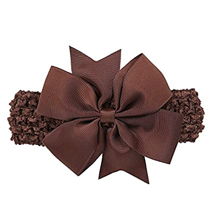 Tensay Baby Girls Headbands Bowknot Hair Accessories for Girls Infant Hair Band