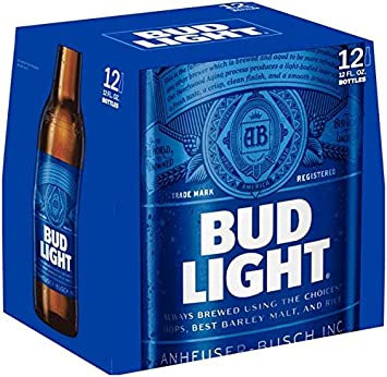 Awesome Bud Light, 12 Pk, 12 Oz Bottles, 4.2% ABV