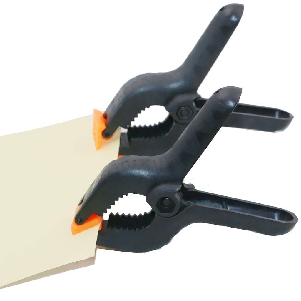 FLAMEER Federzwinge aus Stahl 6 Zoll