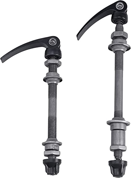 Bicycle Hub Quick Release Road Mountain Bike Front /& Rear Axle Hollow Shaft Set