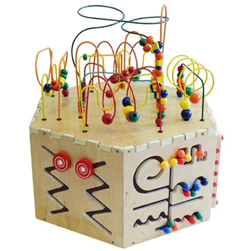 Anatex Six-Sided Play Cube Activity Center by Anatex (Image #1)