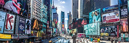 Pyramid America New York City Times Square Theater District Broadway Manhattan Panoramic Photo Cool Wall Decor Art Print Poster 36x12 (New York City Poster Broadway)