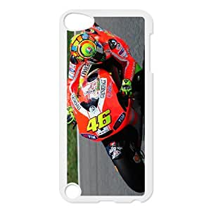 Ipod Touch 5 Phone Case for Valentino Rossi pattern design